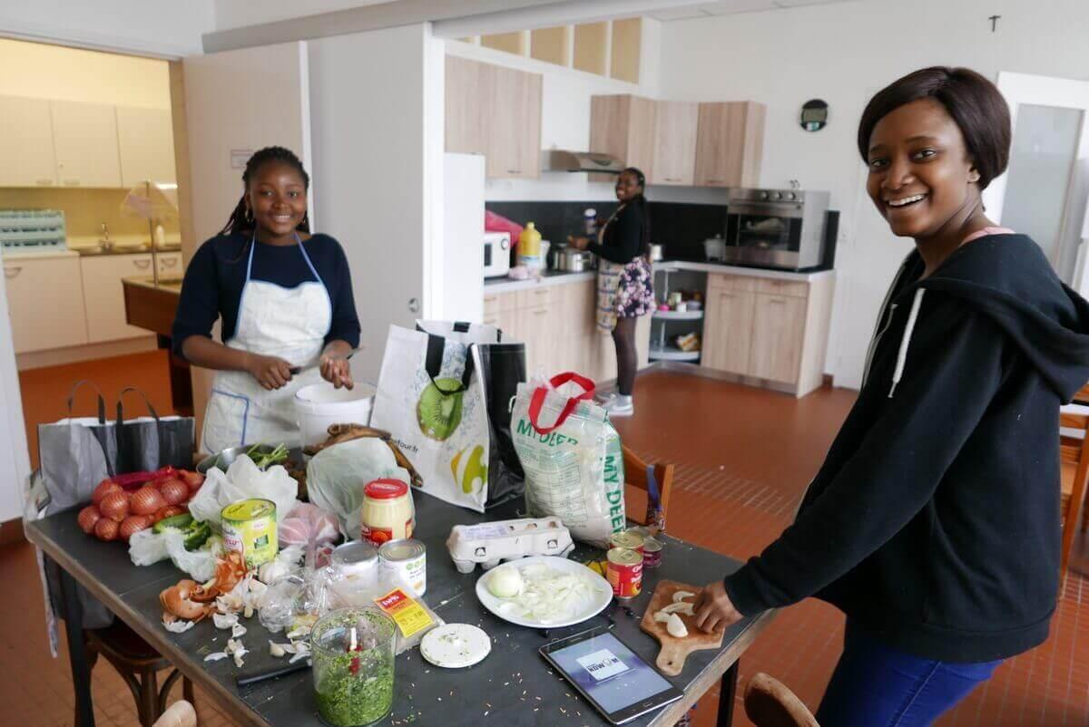 Dîner Africain Foyer Détudiantes Merici à Angers